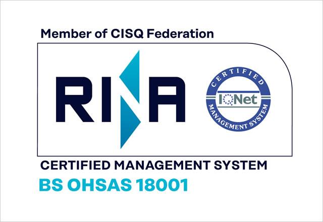 Certificazione OHSAS 180001